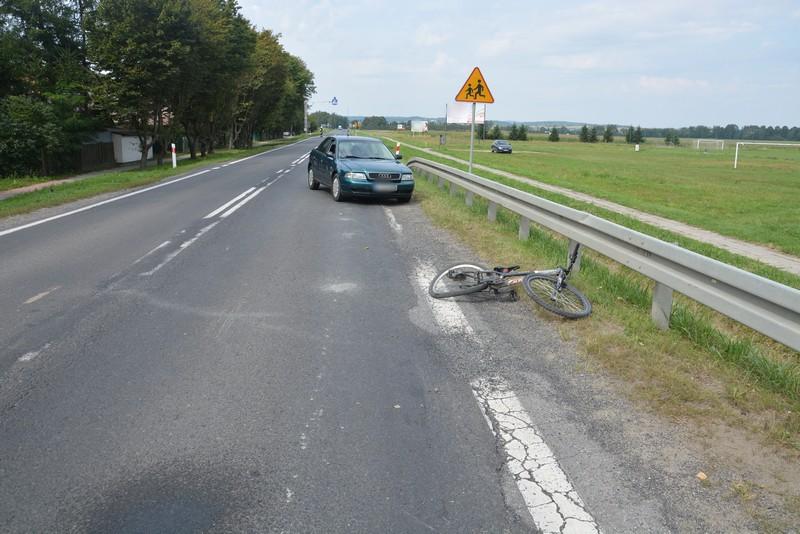 Potrącenie 12-letniego rowerzysty w Moderówce - Zdjęcie główne