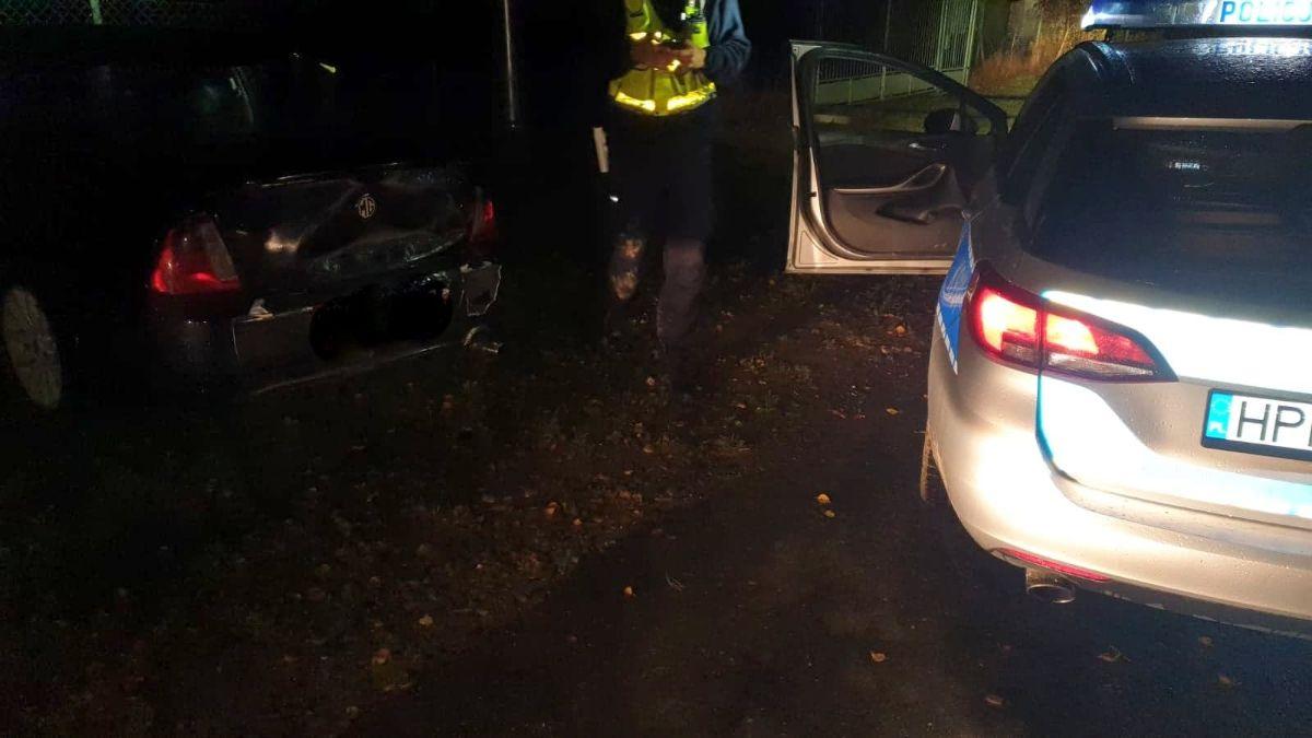 PŁOWCE: Brawurowy nocny pościg za pijanym 18-latkiem [FOTO] - Zdjęcie główne
