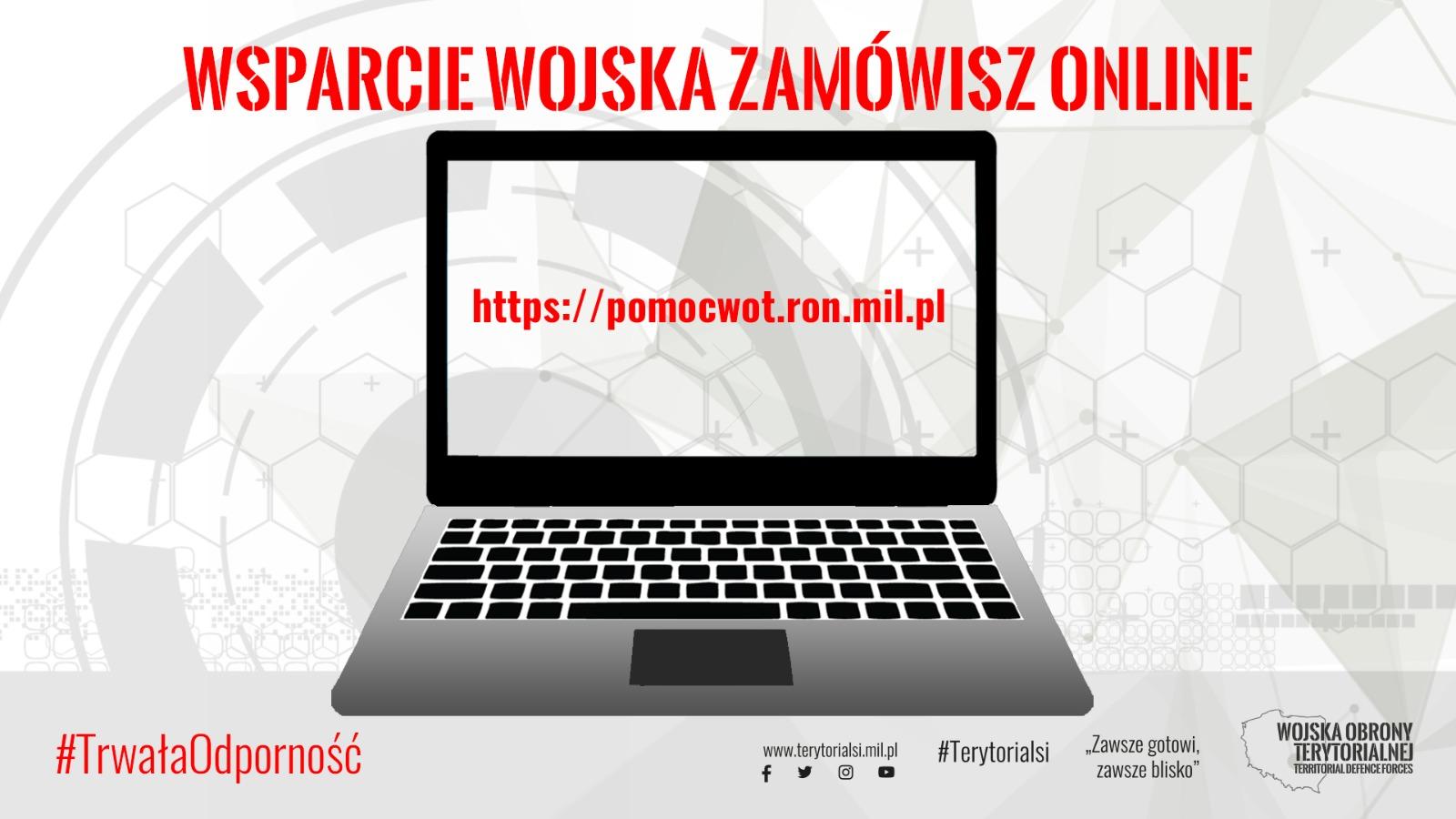 Wsparcie od WOT zamówisz on-line  - Zdjęcie główne