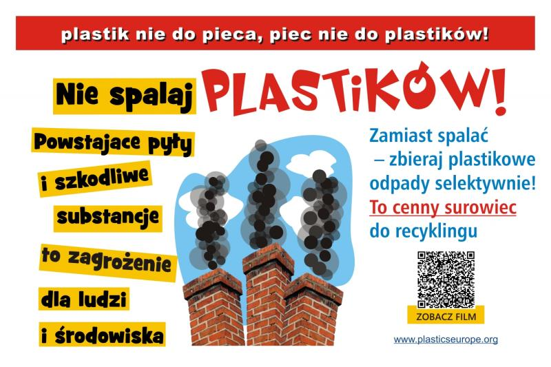 """Fundacja PlasticsEurope - """"Plastik nie do pieca – piec nie do plastiku""""  - Zdjęcie główne"""