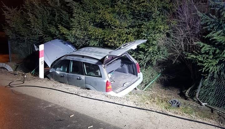TARNAWA GÓRNA: 41-latka kompletnie pijana staranowała ogrodzenie i wpadła do rowu [ZDJĘCIA] - Zdjęcie główne