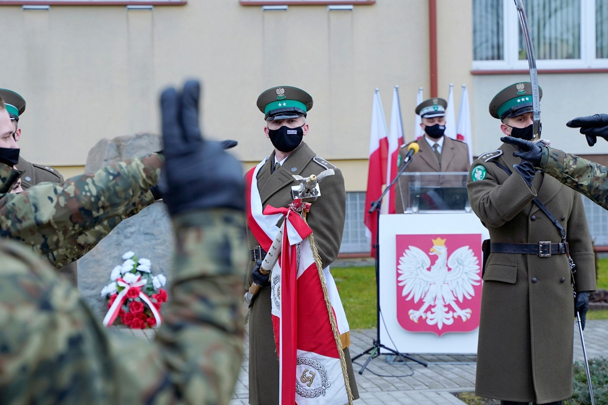 Pierwsi funkcjonariusze w szeregach Straży Granicznej na Podkarpaciu w 2021roku - Zdjęcie główne