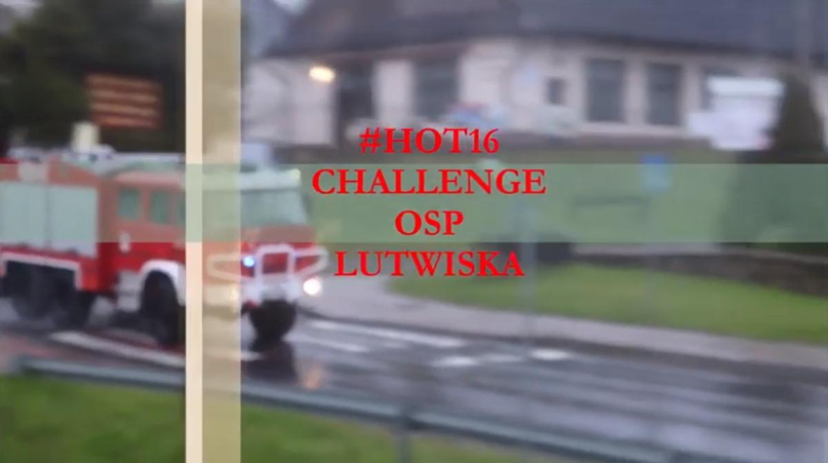 Strażacy z OSP Lutowiska odpowiadają na wyzwanie #hot16challange2 [VIDEO] - Zdjęcie główne