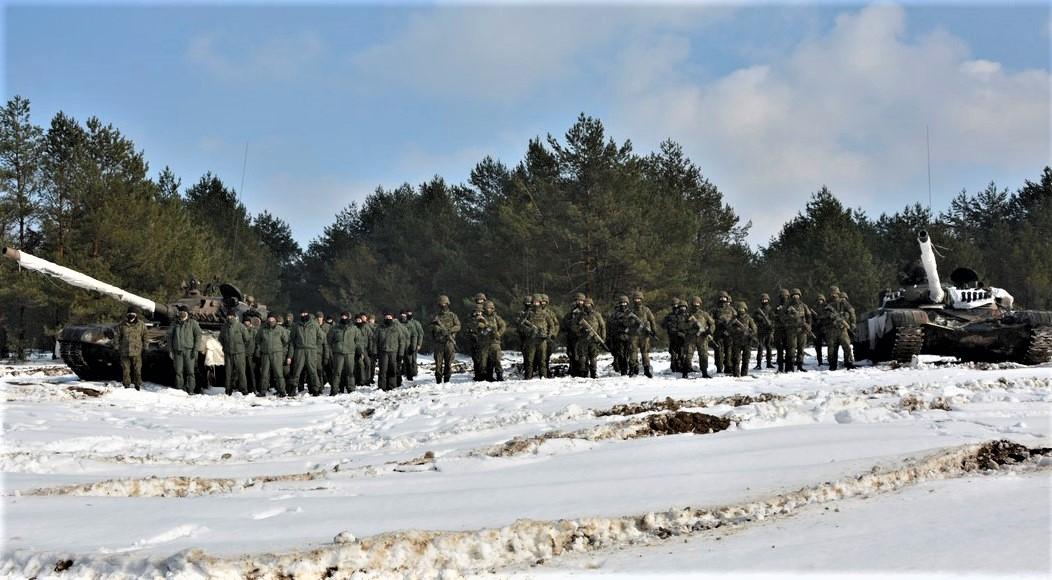 Terytorialsi ćwiczyli na poligonie w Nowej Dębie z czołgistami z Żurawicy [ZDJĘCIA] - Zdjęcie główne