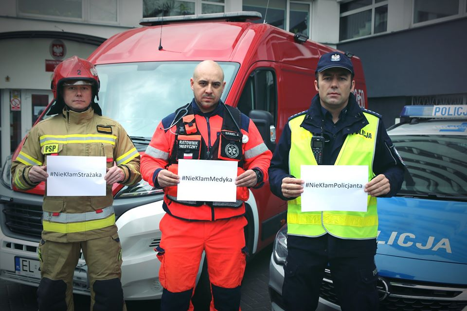 #NieKłamRatownikom - służby apelują, aby nie narażać ich zdrowia podczas stanu zagrożenia - Zdjęcie główne