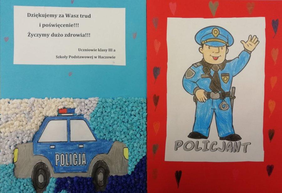 ,,Serdeczne karteczki'' dla brzozowskich policjantów [FOTO] - Zdjęcie główne