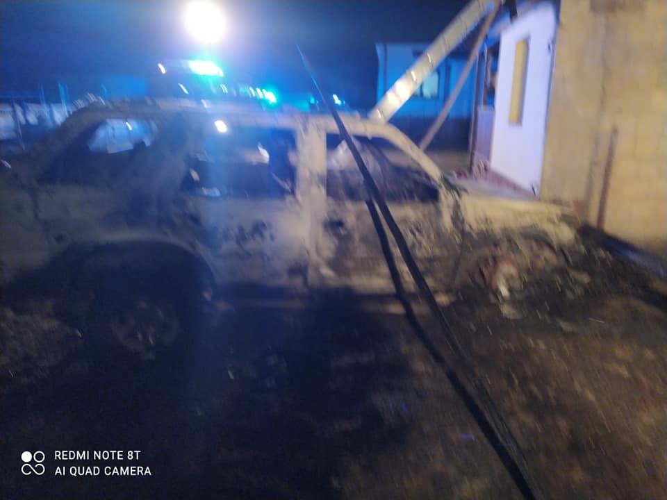 Podkarpacie. Pożar zniszczył szopę i samochód - Zdjęcie główne