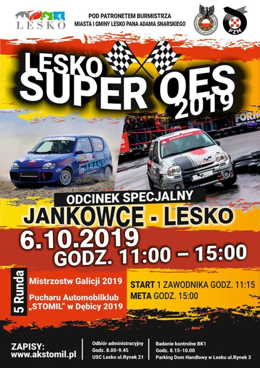 Już dzisiaj - Super Oes Lesko 2019! - Zdjęcie główne