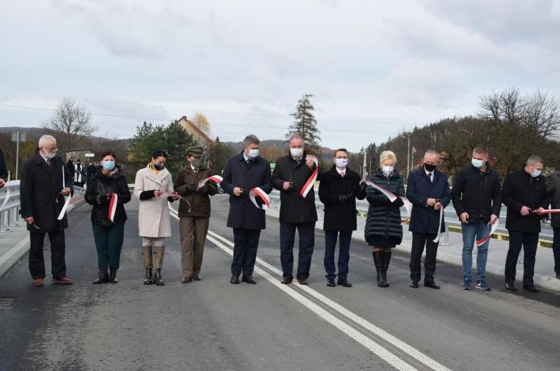 Oficjalne otwarcie mostu w Tyrawie Solnej [FOTO] - Zdjęcie główne