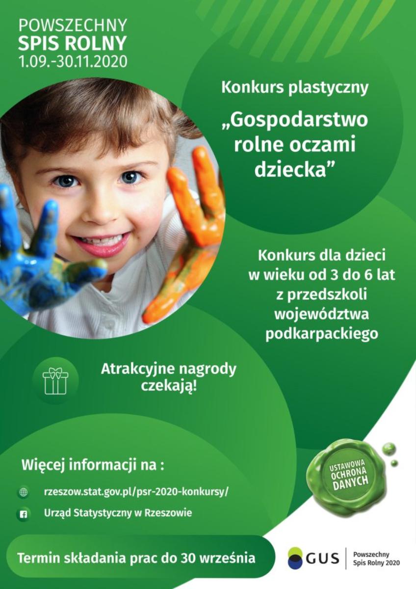 Gmina Sanok. ''Gospodarstwo rolne oczami dziecka'' konkurs plastyczny  - Zdjęcie główne