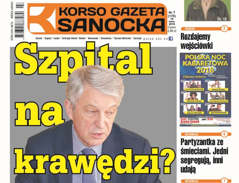 Korso Gazeta Sanocka nr 7/2018 - Zdjęcie główne