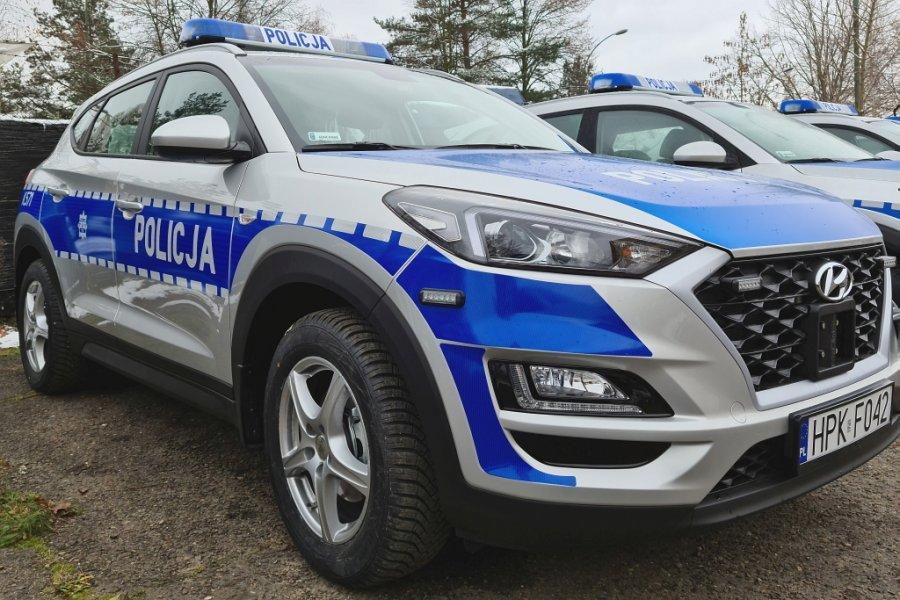 Nowy radiowóz dla komendy policji w Sanoku!  - Zdjęcie główne