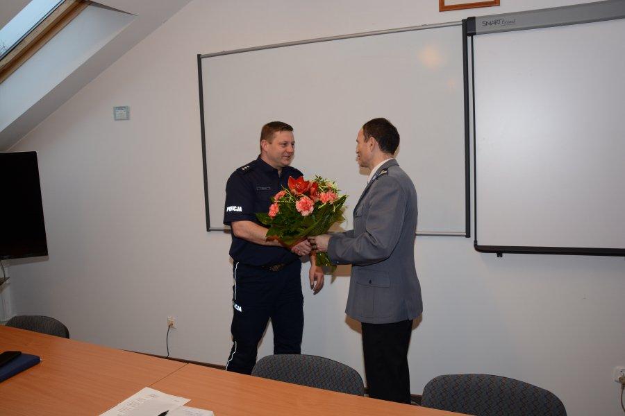 Odwołanie komisarza Grzegorza Stachyry z funkcji zastępcy komendanta sanockiej policji - Zdjęcie główne