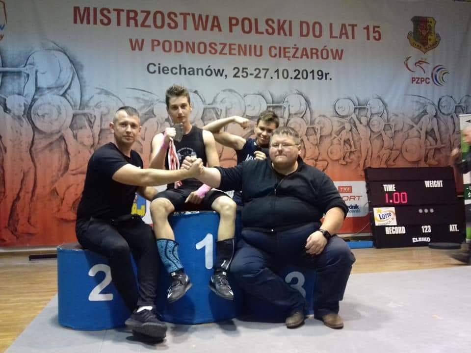 Sukces młodego sanockiego sztangisty na Mistrzostwach Polski - Zdjęcie główne