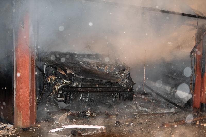 Pożar w PGR w Bykowcach [FOTO+VIDEO] - Zdjęcie główne