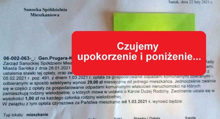 SYGNAŁY CZYTELNIKÓW: Obniżka w kwocie 1 zł za wywóz nieczystości urąga naszej godności! - Zdjęcie główne
