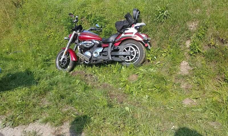 POWIAT LESKI: Dwa wypadki z udziałem motocyklistów. Dwie osoby poszkodowane FOTO - Zdjęcie główne