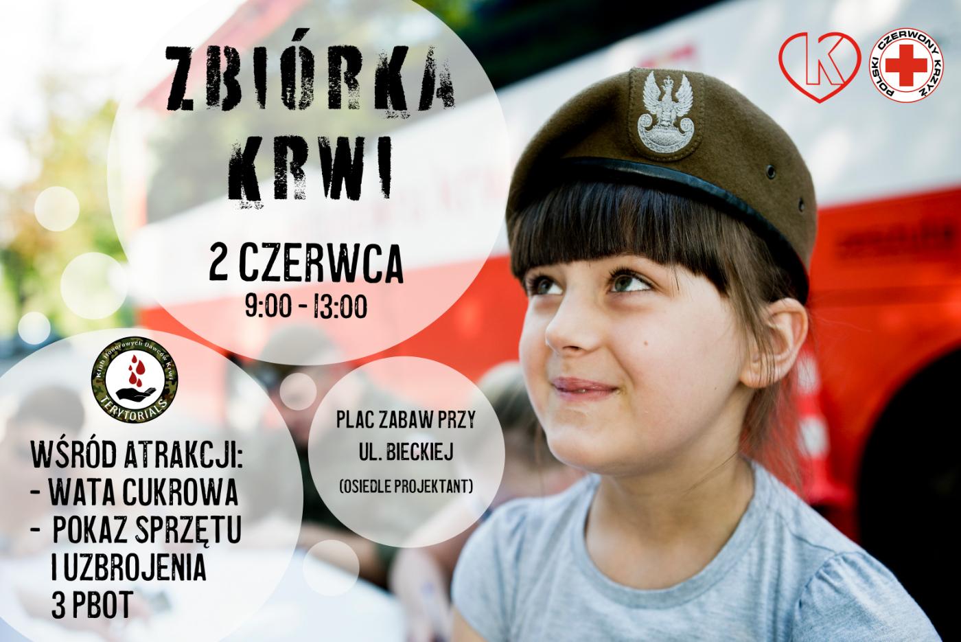 """""""Terytorialsi mają pomoc we krwi"""" - oddadzą krew z okazji Dnia Dziecka - Zdjęcie główne"""