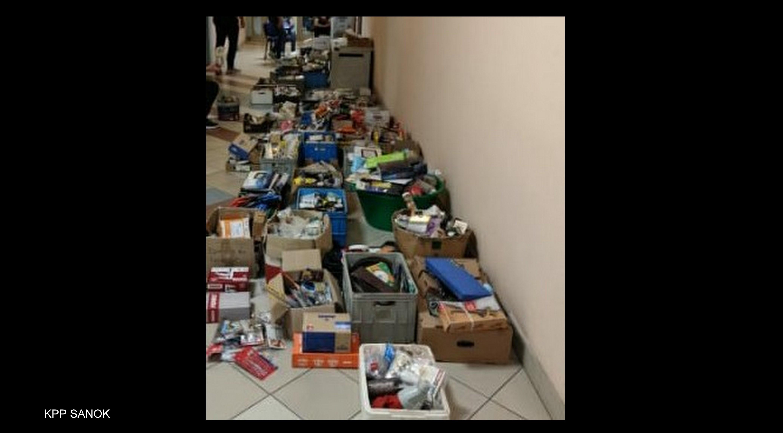 56-latek przez lata kradł narzędzia ze sklepów na terenie Sanoka - Zdjęcie główne