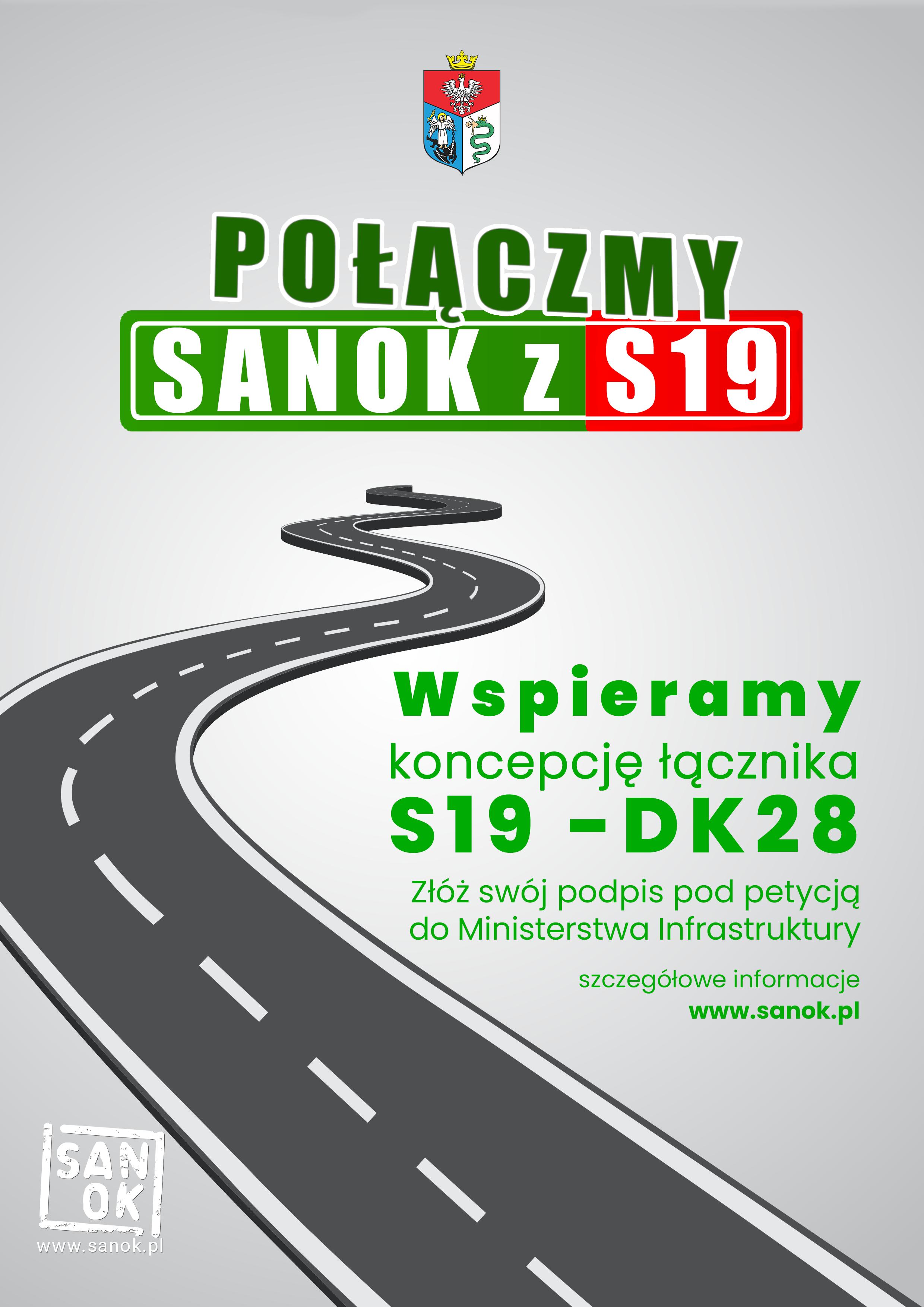 Trwa zbiórka podpisów pod petycją - Połączmy Sanok z S19  - Zdjęcie główne