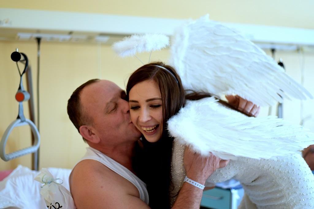 Anioły na onkologii [ZDJĘCIA] - Zdjęcie główne