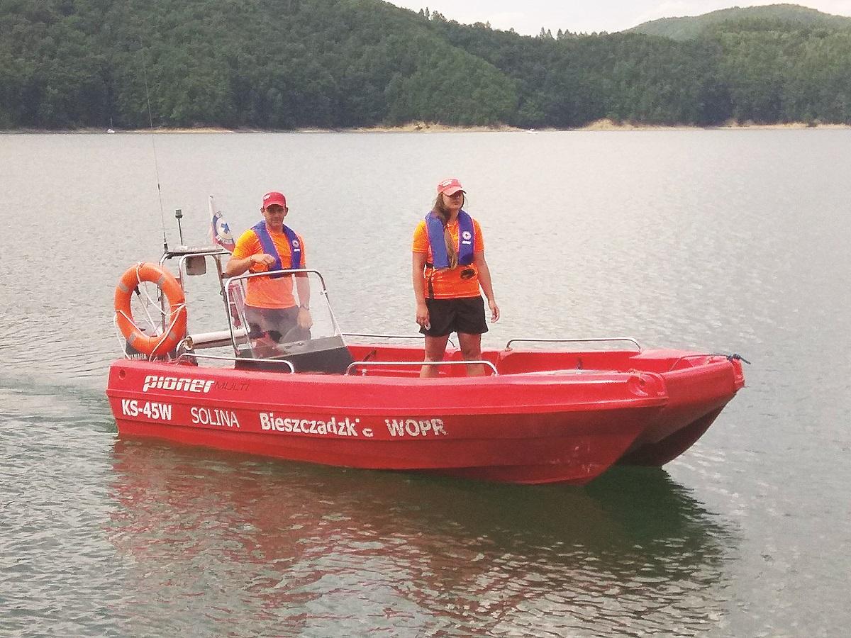 Nowe dyżury ambulansu wodnego  - Zdjęcie główne