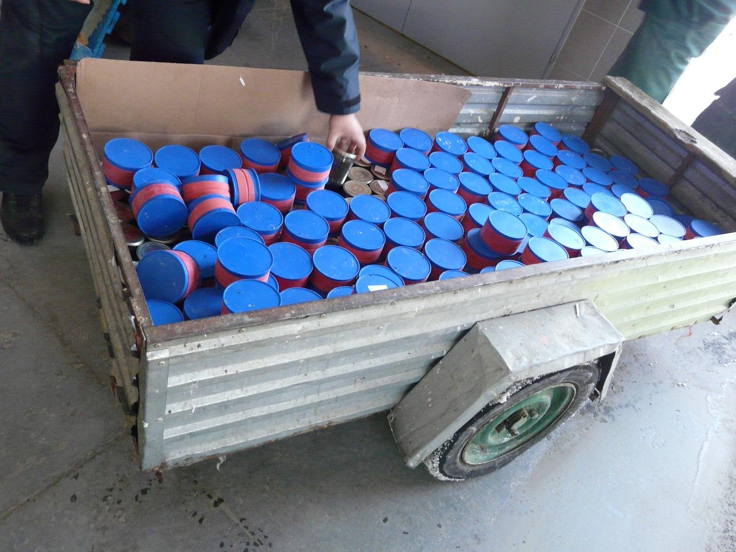 KROŚCIENKO: Obywatele Ukrainy usiłowali przemycić 160 kg kawioru z jesiotra syberyjskiego - Zdjęcie główne