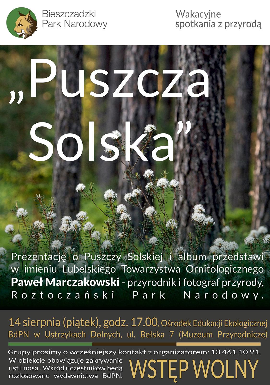 """Spotkanie  """"Puszcza Solska"""" - Zdjęcie główne"""