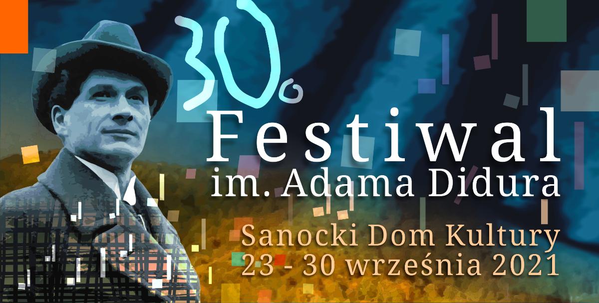 Festiwal im. Adama Didura w Sanoku [PROGRAM] - Zdjęcie główne