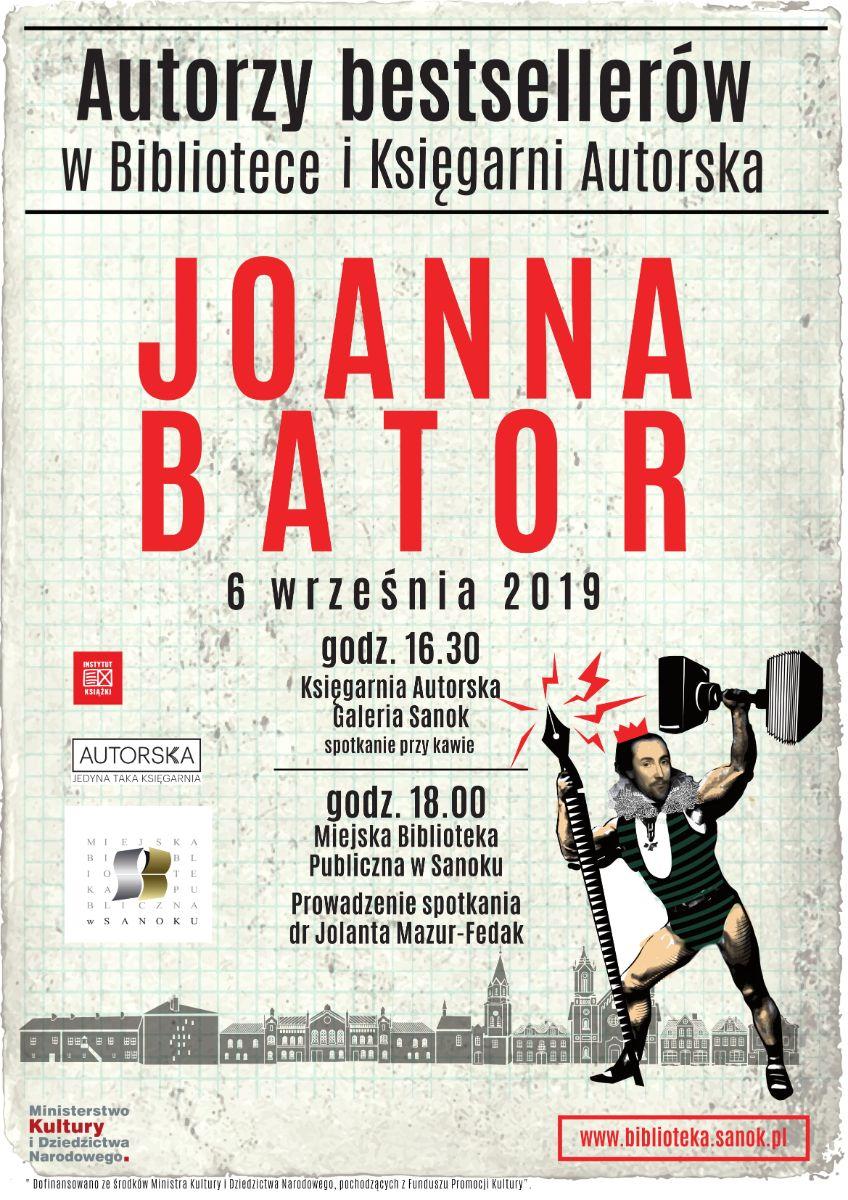 Spotkanie z autorką bestsellerów - Joanną Bator - Zdjęcie główne