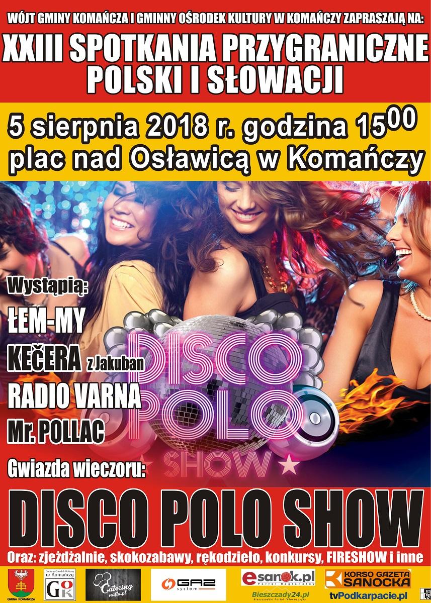 XXIII Spotkania Przygraniczne Polski i Słowacji w Komańczy - Zdjęcie główne