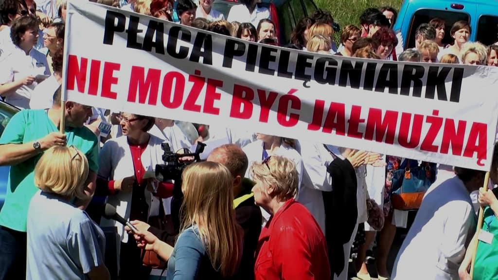 Będzie strajk ostrzegawczy pielęgniarek w szpitalach na terenie całej Polski  - Zdjęcie główne